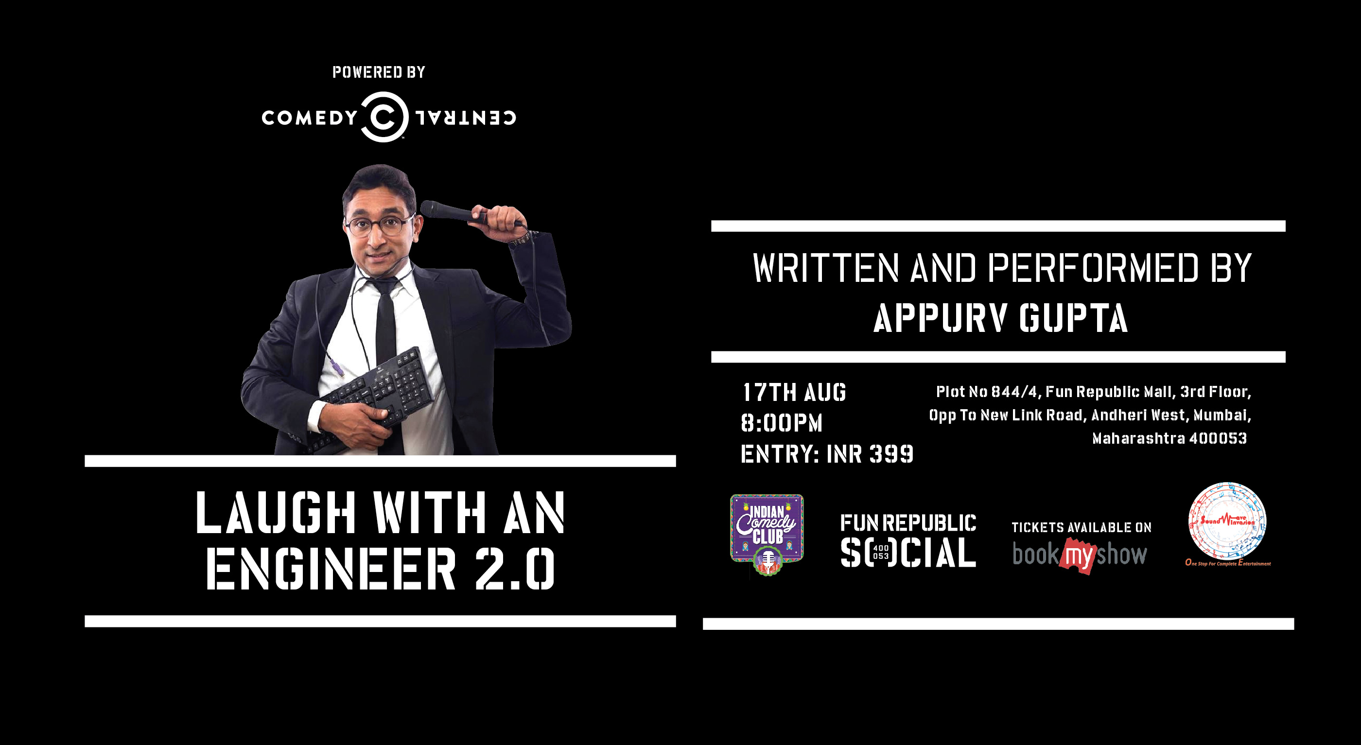 Laugh with an Engineer 2.0 at Fun Republic Social