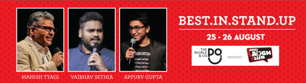 Best in Stand Up Comedy at Canvas Laugh Club, Gurgaon