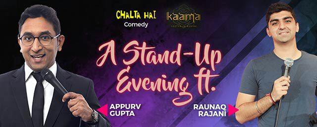 Stand Up Comedy in Mumbai ft. Appurv Gupta & Raunak